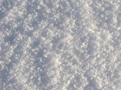 crystal snow surface - stock photo