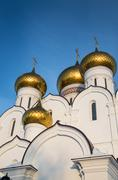 Yaroslavl cathedral of the assumption Stock Photos