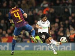 Tino Costa of Valencia CF - stock photo