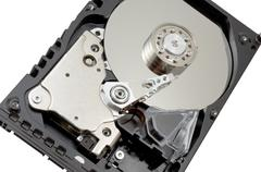 Hard disk drive hdd Stock Photos
