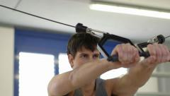 11of27 People training in fitness club, gym and sport activity Stock Footage