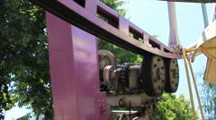 Observation wheel mechanism Stock Footage