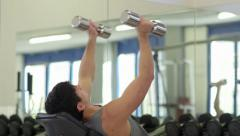 14of27 People training in fitness club, gym and sport activity Stock Footage