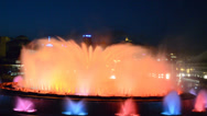 Stock Video Footage of Singing Magic Fountain