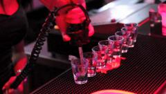 Shots in the Club Stock Footage
