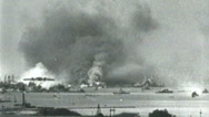 Stock Video Footage of Pearl Harbor Attack 1941 part 8