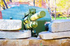 the m30 howitzer - stock photo