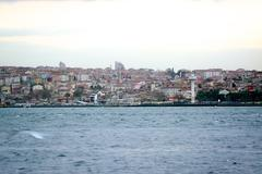 City scape of istanbul - stock photo
