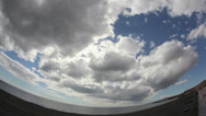 Stock Video Footage of Sky & Clouds Time Lapse