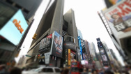 Stock Video Footage of New York Times Square Time Laps