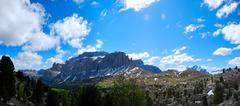 mountain landscape panorama - stock photo