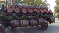 Stock Video Footage of beer carriage in Prater in Vienna