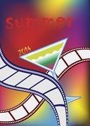 Movies festival Stock Illustration