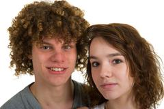 Stock Photo of young couple