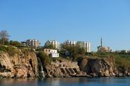 Stock Photo of coast antalya in turkey