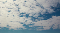 Sunny day clouds timelapse - stock footage