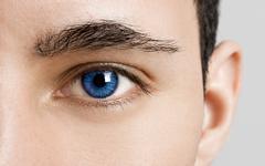 blues eyes - stock photo