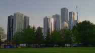 VIEW OF CHICAGO SKYLINE Stock Footage