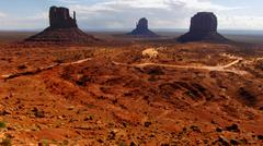 Monument Valley Utah Arizona USA - stock photo