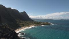 Oahu - Hawaii - USA - Makapu'u Point - HD Stock Footage
