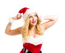 Stock Photo of christmas girl