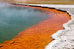 Champagne pool - stock photo