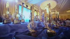 Vieraat vuotuisesta kansallisesta palkintojenjakotilaisuus Financial Olympus Arkistovideo