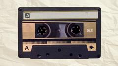 Audio Cassette Loop Customizable - stock footage