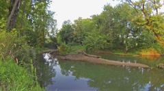 Beaver Creek Site of Old 68-80 Bridge 1 HD Stock Footage