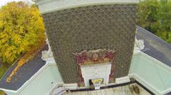Ampir decoration on pavilion 62 at VVC. Stock Footage