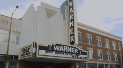 Warner Theatre (1 of 5) Stock Footage