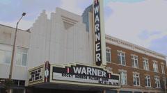 Warner Theatre (2 of 5) Stock Footage