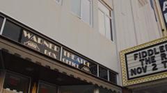 Warner Theatre (4 of 5) Stock Footage
