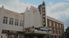 Warner Theatre (5 of 5) Stock Footage