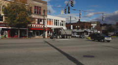 Downtown Torrington shops and streets (4 of 4) Stock Footage