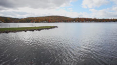 Lake in Litchfield (2 of 4) Stock Footage