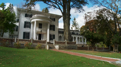 Whitehouse mansion (2 of 2) - stock footage