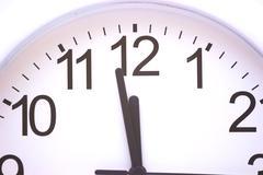 Stock Photo of Minutes to twelve