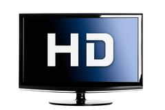 Hd digital tv Stock Illustration