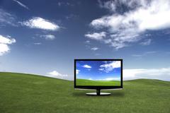 Tv suurella Colores Kuvituskuvat