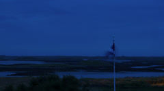 Dawn over the Outer Hebrides in Scotland / tide coming in timelapse. Stock Footage