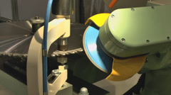 Machine tool - stock footage