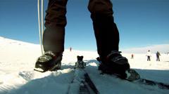 Ski time Stock Footage