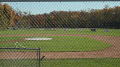 Secluded Baseball Field (6 of 9) - stock footage