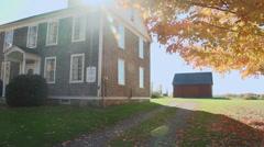 Lonetown Farm Museum (6 of 7) Stock Footage