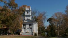 Renowned landmark in town (1 of 4) - stock footage