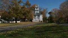 Renowned landmark in town (2 of 4) - stock footage
