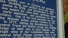 Historic Redding Sign (5 of 6) Stock Footage