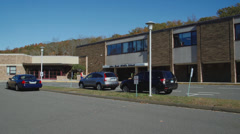 Joel Barlow High School (8 of 8) Stock Footage