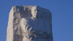 MARTIN LUTHER KING JR. MEMORIAL (CLOSE) Stock Footage